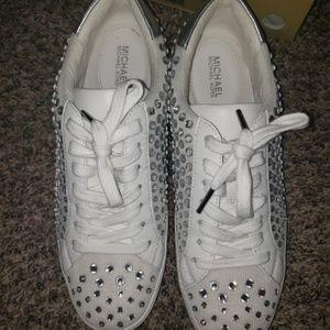 Cute MK  embellished sneakers